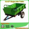 Aanhangwagen van de Doos van de Aanhangwagen van het Landbouwbedrijf van Landbouwmachines de Kleine Tippende
