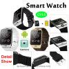 Téléphone intelligent intelligent de montre avec la fente de carte SIM (GV18)
