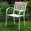 의자를 식사하는 최신 판매 싼 선전용 주조 알루미늄 옥외 정원