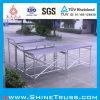 Superhigh en aluminium Bridge Type Stage avec Portable Stairs