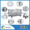 Gabbia piegante di memoria galvanizzata industria della rete metallica