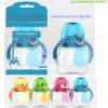 La botella de consumición del bebé de consumición del bebé animal lindo de las tazas asalta las botellas de agua de los cabritos con los niños de la paja y de la maneta que entrenan a la taza