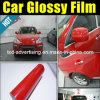 Red lucido Car Body Protection Wrap Vinyl Film 1.52X30m
