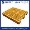 Material do HDPE e tipo pálete da entrada 4-Way do plástico do transporte do HDPE
