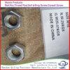 El acero de carbón DIN934 aclara la tuerca Hex M12