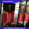 Fabrik-Preis-klare Farben-im Freiengewebe, das kundenspezifische Fahne hängt