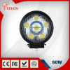 2016 diodo emissor de luz superior Spot Light Work Light do diodo emissor de luz Working Light 24V do CREE de Selling 60W