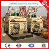 1500L Twin/Double Shaft Concrete Mixer Supplier (de Henan China)