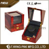 일본 Motor를 가진 끊임없는 Motion Automatic Wooden Watch Display Boxes