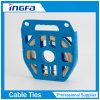Venda de acero inoxidable descubierta flexible para atar tallas estándar el 1/2 '' 3/4