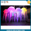 Balloon inflável Decorations, diodo emissor de luz Lighting Inflatable Jellyfish para Party, Christmas Outdoor Decoration
