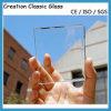1-19mmの平らで明確なフロートガラスのゆとりの板ガラスのセリウムSGCC