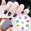 Плит штемпеля изображения искусствоа ногтя DIY плита силикона Manicure портативных польская штемпелюя оборудует новую