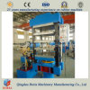 Vulcanizador hidráulico, prensa de vulcanización del cristal de exposición de goma