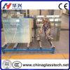 Vidrio manchado modificado para requisitos particulares talla de la puerta decorativa de la ducha del certificado del CE