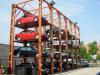 4개의 포스트 차량을%s 유압 주차 상승 차 쌓아올리는 기계