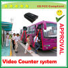 Südamerika 3G GPRS Passenger Bus Mobile DVR mit Video Counter System