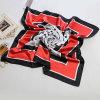 Sciarpa di seta della signora Fashion Printed Polyester Satin (YKY1029)
