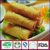 De Chinese Broodjes van de Lente van de Snack IQF Bevroren Plantaardige met Uitstekende kwaliteit