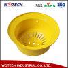 Желтый круглый стальной абажур для напольного