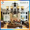 Lámpara moderna del techo del metal del hierro del nuevo diseño para la sala de estar