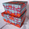 Cajas de regalo impresas patrón modificadas para requisitos particulares del papel cuadrado
