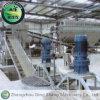 Linha de produção do fertilizante orgânico do estrume da cabra