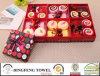 2015 새로운 절기 디자인 결혼 케이크 선물 수건은 Df 2877를 놓는다