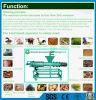 ブタの肥料のためのねじ放出の固体および液体の分離器