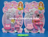 O plástico brinca o brinquedo da menina, acessórios brinquedo, brinquedo ajustado da beleza (138531)