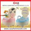 2014新しいデザインプラスチック赤ん坊の洗面所型の製造