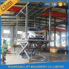 Levage hydraulique de véhicule de paquet de ciseaux automatiques double