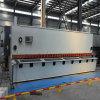 Máquina que pela de la guillotina hidráulica del CNC