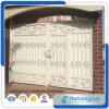Porta revestida do ferro feito do pó contra-roubo/porta aço inoxidável com painel galvanizado