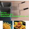 Machine de friteuse/friteuse française pommes chips/machine électrique de friteuse