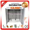 Incubadora comercial industrial automática cheia Va-5280 do ovo da galinha