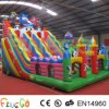 Outdoor gigante Micky Mouse New Inflatable Slide per Kids