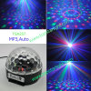 MP3 3*1W de Disco LED Crystal Ball Light Tsa257 van RGB