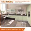 Moderner modularer hölzerner Furnier-Blattküche-Schrank von China