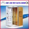 Ducha mojada y seca de la sauna (AT-8851A)