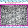 Tela de matéria têxtil do bordado de Organza do corte do laser com linha poli (jm531)