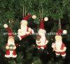 Polyresin Hanging Santa Gifts, Christmas Hanging Decoration