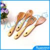Kitchen en bambou Tools Cooking Spatula Spoon Set de 4 PCS