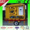 Machine mobile de filtration d'huile d'isolation de vide de Zym