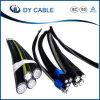 ABC-Kabel-zusammengerolltes Luftkabel. Duplexkabel, Triplex Kabel. Quadruplex Kabel