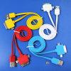 USB Cable 3 высокого качества в 1 с Kinds Color