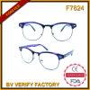Nouveau produit F7824 avec les lunettes de soleil en plastique