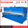 금속 장 절단에 사용되는 유압 깎는 기계 QC12y-8*4000