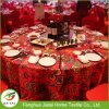 Tele moderne eleganti su ordinazione poco costose della tavola rotonda di cerimonia nuziale