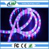 IP65는 3개의 철사 둥근 수평한 LED 밧줄 빛을 방수 처리한다